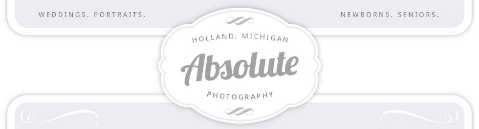 Absolute Photography – Holland, MI logo