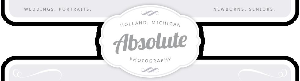 Absolute Photography – Holland, MI logo